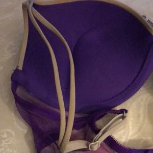 Victoria's Secret Intimates & Sleepwear - VS Bombshell add 2 cup size 34B Purple & Grey $65
